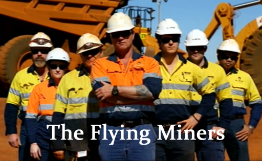 Flying Miners
